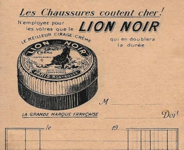 Bloc-notes Lion Noir (03)