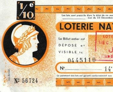 Billet de Loterie Nationale (02)