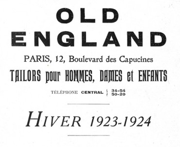 Catalogue Old England