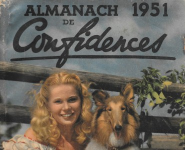 Almanach Confidences 1951