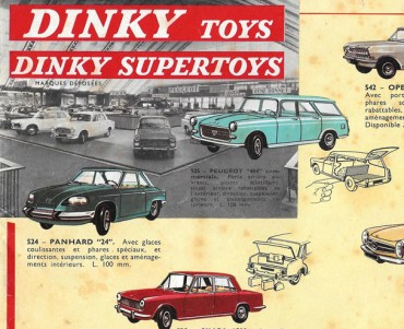Catalogue Dinky Toys