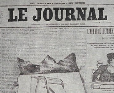 Carte Postale Le Journal