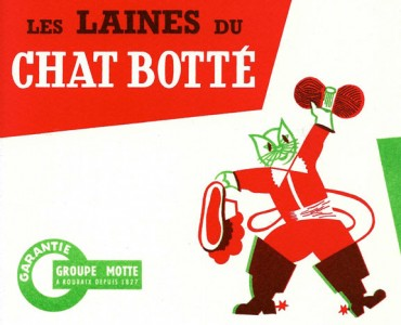 Buvard Laines du Chat Botté