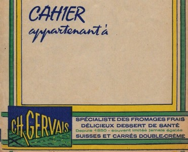 Protège-cahier Gervais