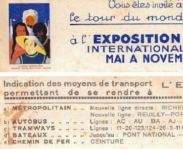 Signet Exposition Coloniale 1931