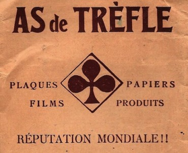 Pochette photos As de trèfle